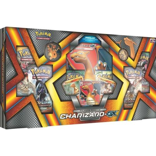 Jogo Cartas - Box Pokémon Charizard GX - Copag