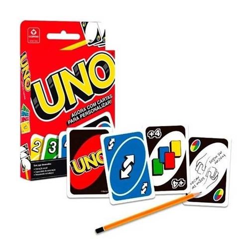 Jogo Cartas Uno com 114 Baralhos 133136