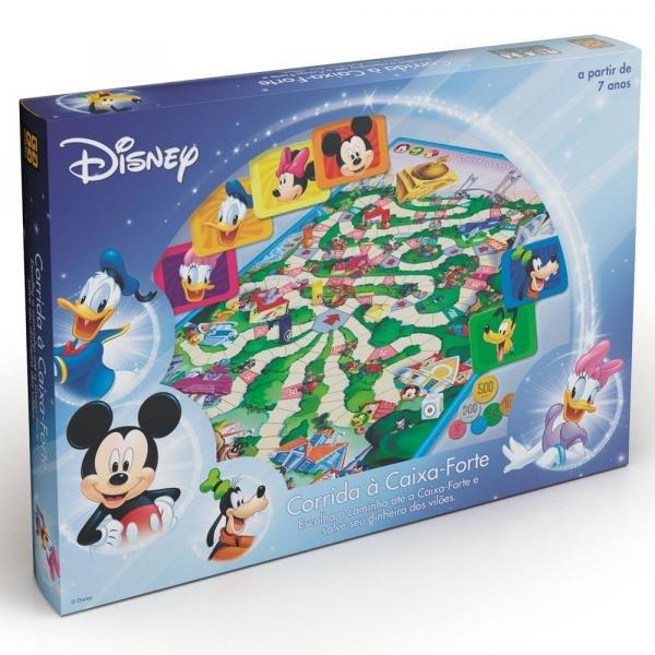 Jogo Corrida a Caixa-Forte - Disney - Grow