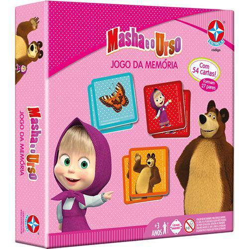Tudo sobre 'Jogo da Memória Masha e o Urso'