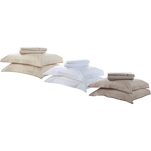 Jogo de Cama Solteiro Confort Basic Premium Cor Branco - Buddemeyer