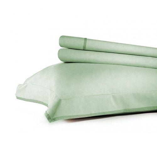 Jogo de Cama Queen Basic Premium 200fios - Verde