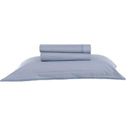 Jogo de Cama Solteiro Confort Basic Premium Percal 200 Fios 3 Peças Azul - Buddemeyer