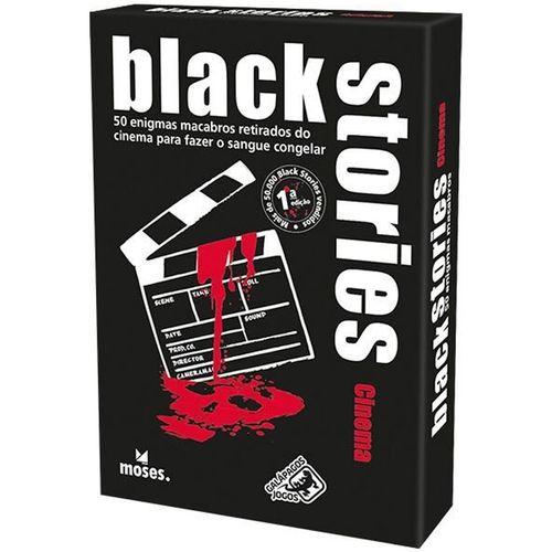 Jogo de Cartas Black Stories Cinema - Galápagos