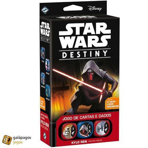 Jogo de Cartas Star Wars Destiny Pacote Inicial - Kylo Ren