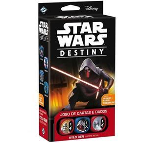 Jogo de Cartas Star Wars Destiny Pacote Inicial Kylo Ren