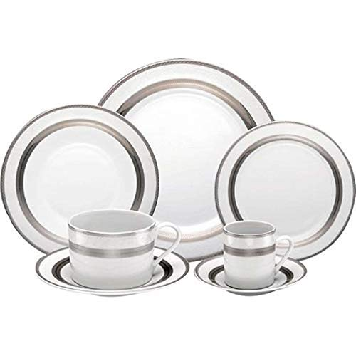 Tudo sobre 'Jogo de Jantar 42 Peças Bon Gourmet Modelo Silver Sky'