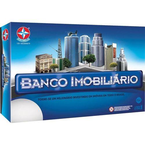 Jogo de Tabuleiro Banco Imobiliario Grande Unidade 1201602800019 - Estrela