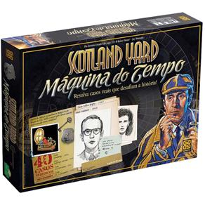 Jogo de Tabuleiro Scotland Yard Máquina do Tempo Grow