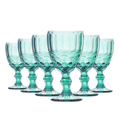 Tudo sobre 'Jogo de Taças Vinho Elegance Tiffany 220ml Class Home'