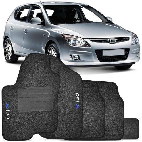 Tudo sobre 'Jogo de Tapetes Carpete Hyundai I30 2009 a 2013 Grafite Bordado 5 Peças'