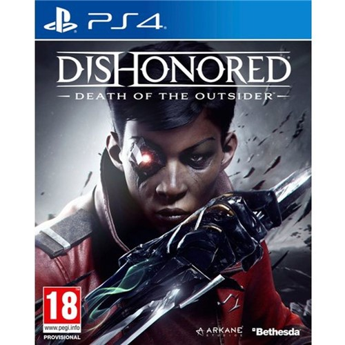 Tudo sobre 'Jogo Dishonored Death Of The Outsider - Ps4'
