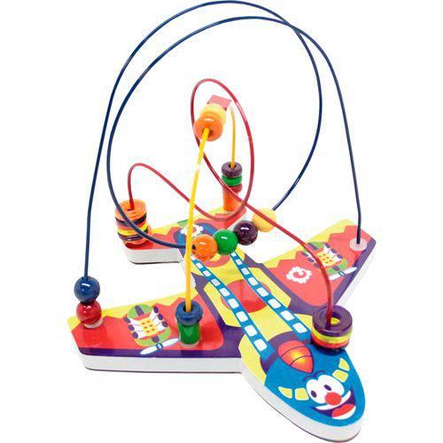 Jogo Educativo Aramado Avião 3115 - Carlu Brinquedos