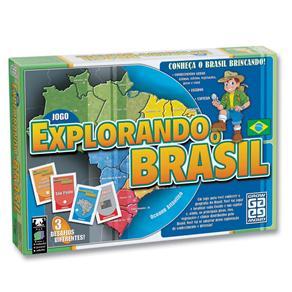 Jogo Explorando o Brasil Grow 01658