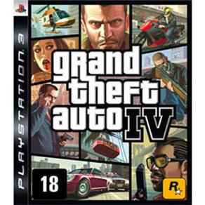 Jogo Grand Theft Auto IV - PS3