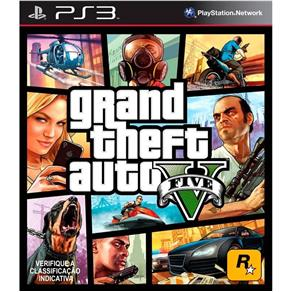 Jogo Grand Theft Auto V - PS3