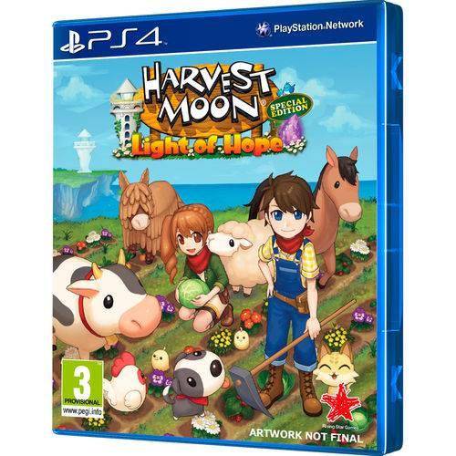 Tudo sobre 'Jogo Harvest Moon Light Of Hop Special Edition Ps4'