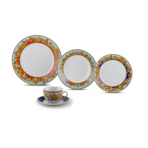 Jogo Jantar de Porcelana 20 Peças Baeza