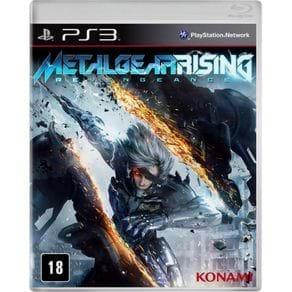 Tudo sobre 'Jogo P/ Playstation 3 Konami Metal Gear Rising BLUS31045S'
