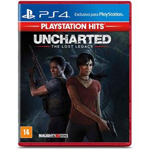 Jogo PS4 - Uncharted - The Lost Legacy