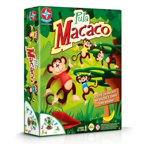 Tudo sobre 'Jogo Pula Macaco - Estrela'