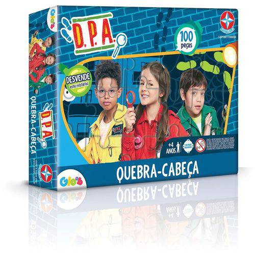 Tudo sobre 'Jogo Quebra Cabeça Dpa 100 Peças - Estrela'