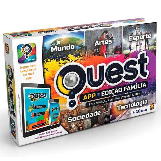 Jogo Quest App Edição Família - Grow Jogo Quest Edição Família - Grow