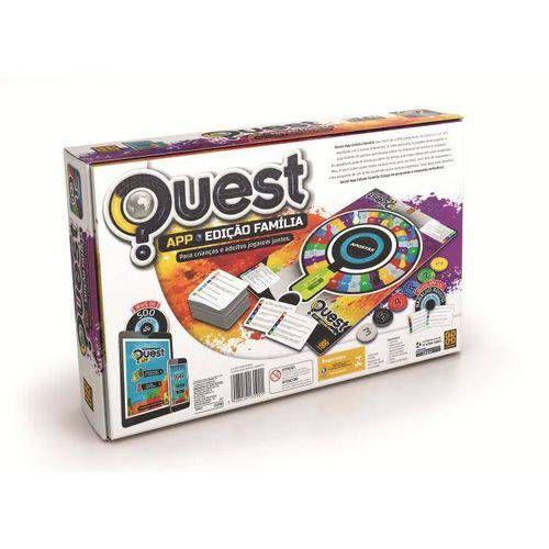 Jogo Quest Edição Família App 3190