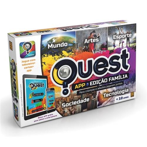 Jogo Quest - Edição Família App - GROW