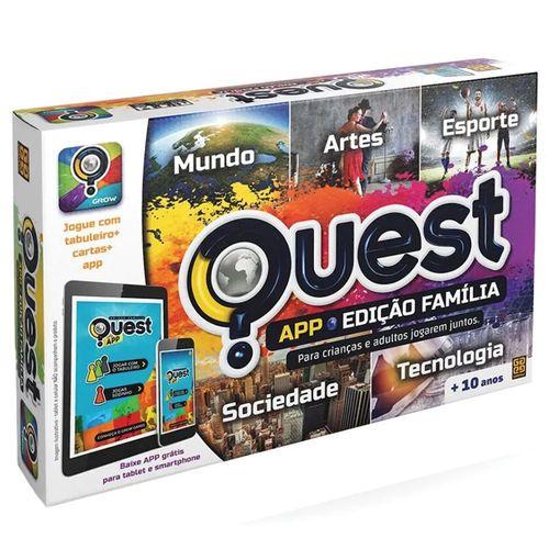 Jogo Quest Edição Família App - Grow
