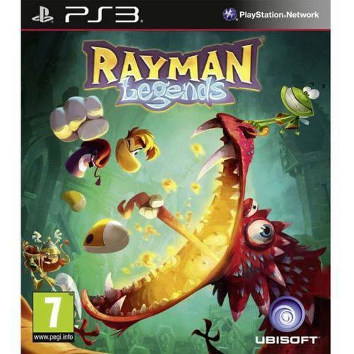 Tudo sobre 'Jogo Rayman Legends Ps3'