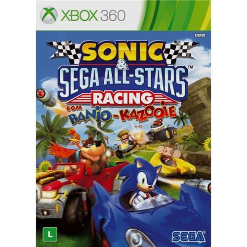 Tudo sobre 'Jogo Sonic & Sega All-stars Racing - Xbox 360 - Jogo Sonic Sega All-stars - Racing - Xbox 360'