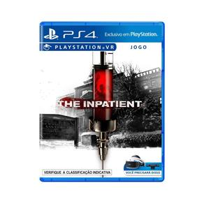Jogo Sony The Inpatient VR PS4 Blu-ray P4SA00726501FGM