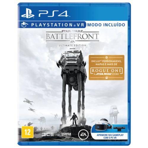 Tudo sobre 'Jogo Star Wars Battlefront Ult Ed. BR PS4'