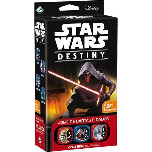 Tudo sobre 'Jogo Star Wars Destiny - Pacote Inicial - Kylo Ren'
