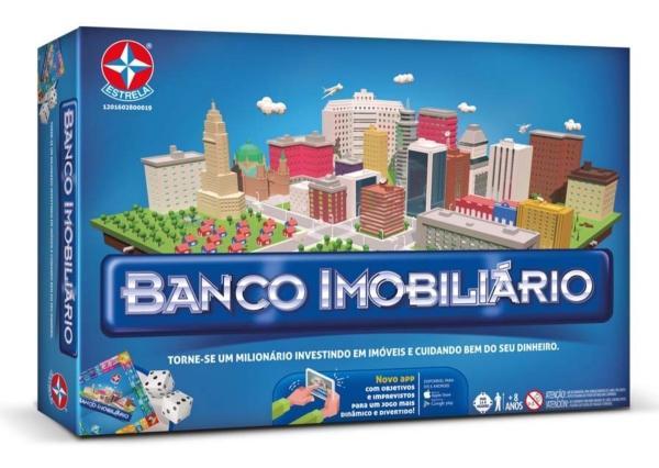 Jogo Tabuleiro Banco Imobiliário Grande Estrela 4296-2