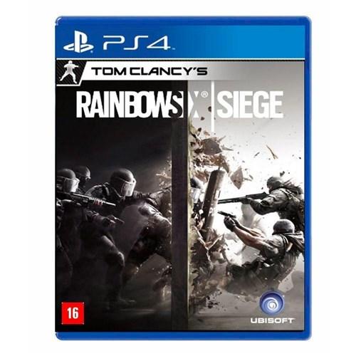 Jogo Tom Clancy's: Rainbow Six Siege Ps4