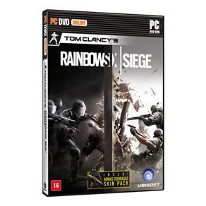 Jogo Tom Clancys Rainbow Six: Siege Signature Edition - PC