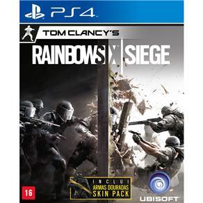 Jogo Tom Clancy's Rainbow Six: Siege - Signature Edition - PS4