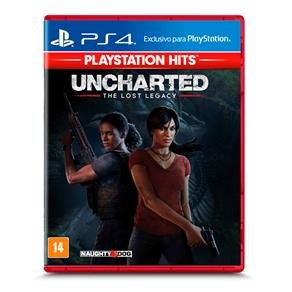 Jogo Uncharted: The Lost Legacy - Playstation Hits - PS4