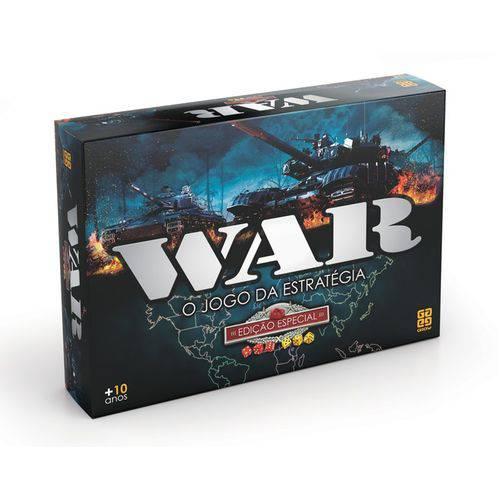Tudo sobre 'Jogo War Edição Especial'