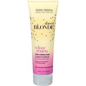 John Frieda Sheer Blonde Color Renew Tone Restoring Condicionador - 275ml - 275ml