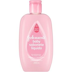 Johnsons Baby Sabonete Líquido 200ml