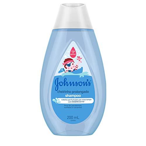 Johnson's Baby Shampoo Infantil Cheirinho Prolongado, 200ml