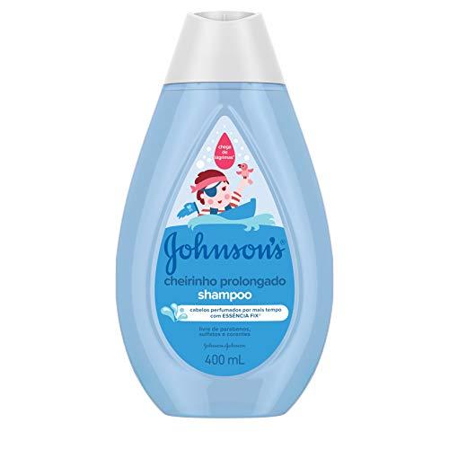 Johnson's Baby Shampoo Infantil Cheiro Prolongado, 400ml