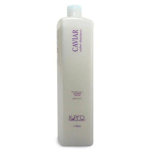 Tudo sobre 'K.Pro Caviar Color Shampoo 1 Litro'