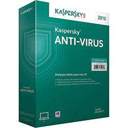 Tudo sobre 'Kaspersky Antivírus - 2015 3 Pcs - 1 Ano de Proteção'