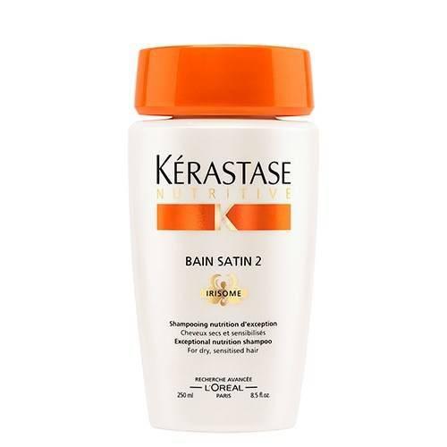 Tudo sobre 'Kérastase Nutritive Bain Satin 2 Shampoo 250ml'