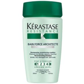 Kérastase Resistance Bain Force Architecte 1-2-3-4 Shampoo - 250ml