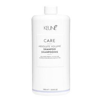 Keune Care Absolute Volume Shampoo Tamanho Professional 1L